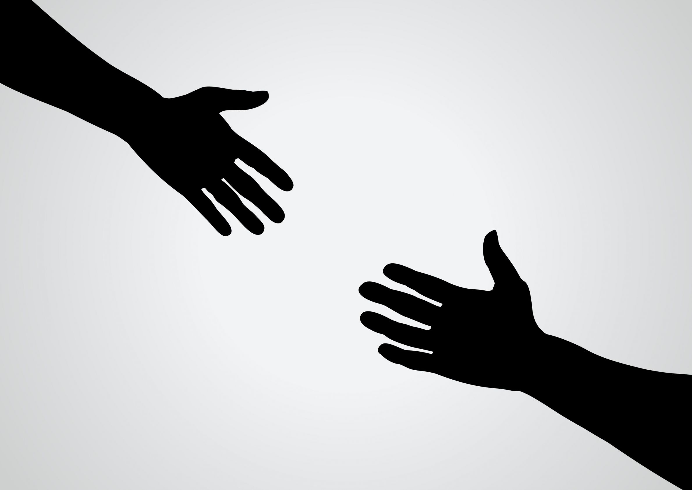 helping-hands-black-and-white-clipart-clipart-kid ...